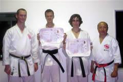 Matthew Stevenson & Rhys Woodhouse - Shodan Certificate